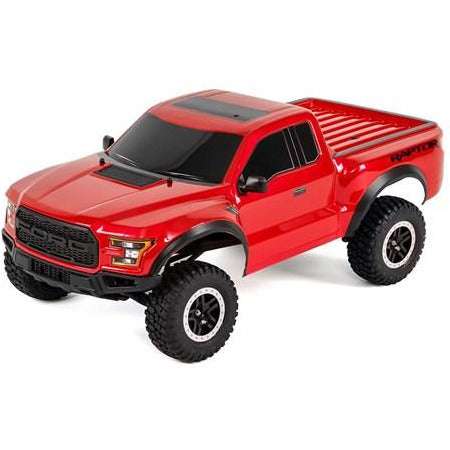 TRAXXAS 1/10 Ford F-150 RAPTOR - Red