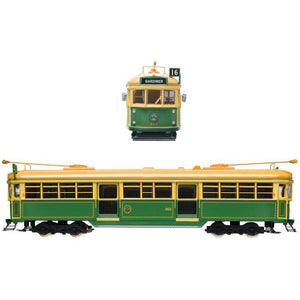 COOEE 1/76 Electric Tram No.965 - Green (TRAME1)