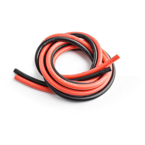 Image of TORNADO 10AWG 1M RED 1M BLACK