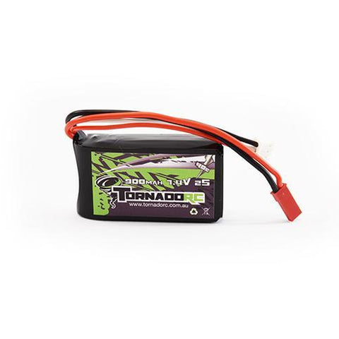 Image of TORNADO RC-2S-900MAH-40C SOFT CASE LIPO 7.4V