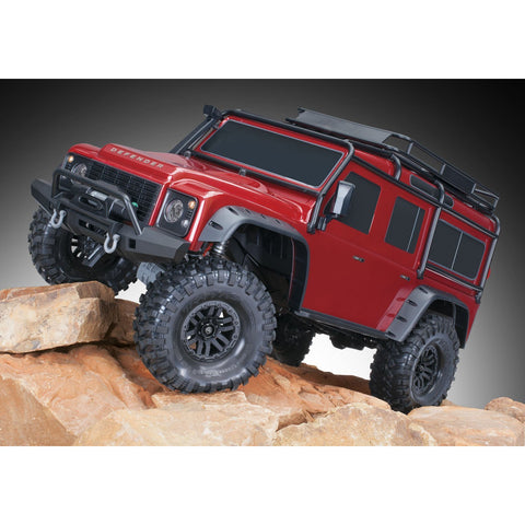 TRAXXAS 1/10 TRX-4 Scale & Trail Crawler Land Rover - Red