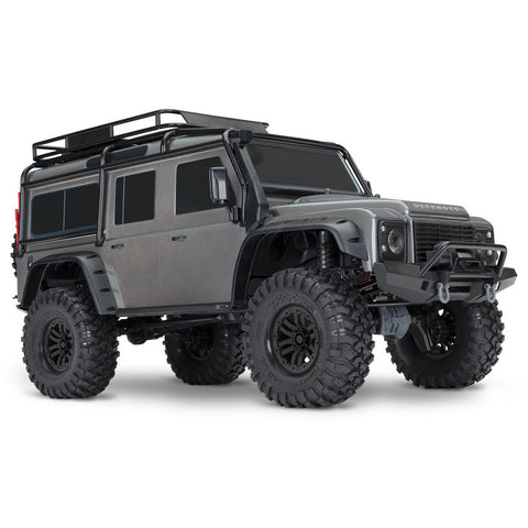 TRAXXAS 1/10 TRX-4 Scale & Trail Crawler Land Rover - Silver
