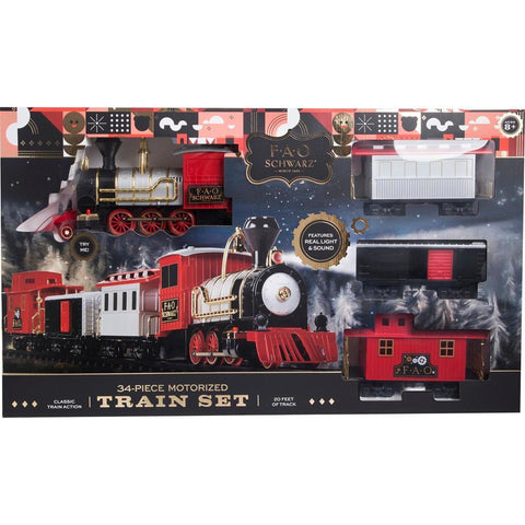 F.A.O SCHWARZ Train Set 30 pcs (TSFTRSXX)