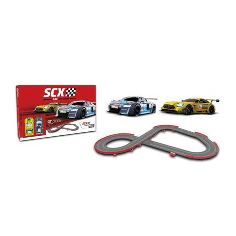SCX GT OPEN Slot Car Set
