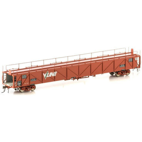 Image of AUSCISION HO - VMBX Plain Metal Sided Car Carrier (4 Car Pa