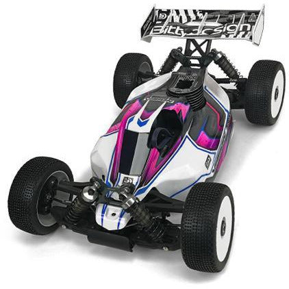 BITTYDESIGN VISION clear 1/8 buggy body Mugen MBX8 Pre-cut