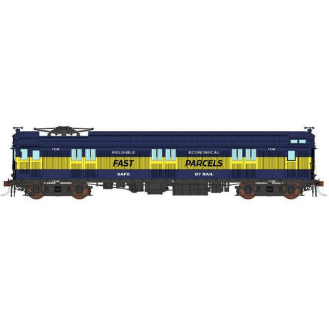 AUSCISION HO - 1CM VR Blue & Gold Fast Parcels - Single Car