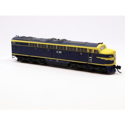 GOPHER MODELS VR S Class Locomotive - VR Blue/Gold Livery (
