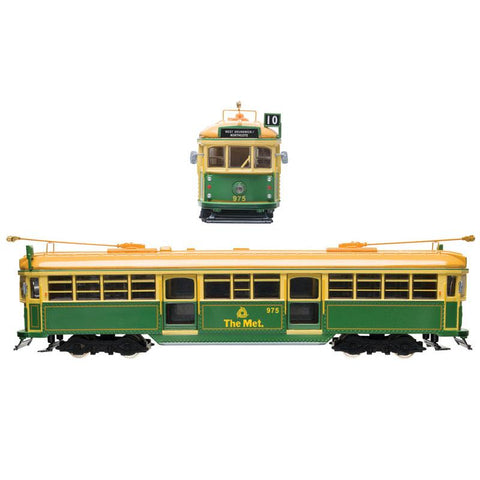 COOEE 1/76 Electric Tram W6 No.975 - Green