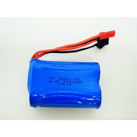 6.4V 750mah Lion Battery JST/Black plug (WLA959-A-03)