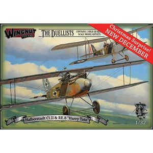 "WINGNUT WINGS Halberstadt Cl.II & RE.8 ""Harry Tate"" The Due"