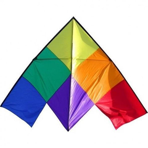 WINDSPEED Patchwork Delta Single String Kite