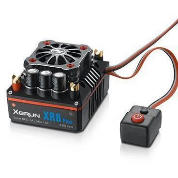 Image of HOBBYWING XeRun XR8-Plus comp 1/8 ESC w/boost BLK