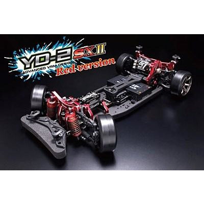 YOKOMO YD-2SXII RED LIMITED RWD Drift Car Kit (Graphite Cha