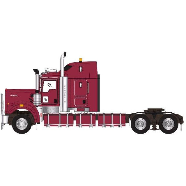 DRAKE KENWORTH C509 SLEEPER VINTAGE BURGUNDY (Z01464)