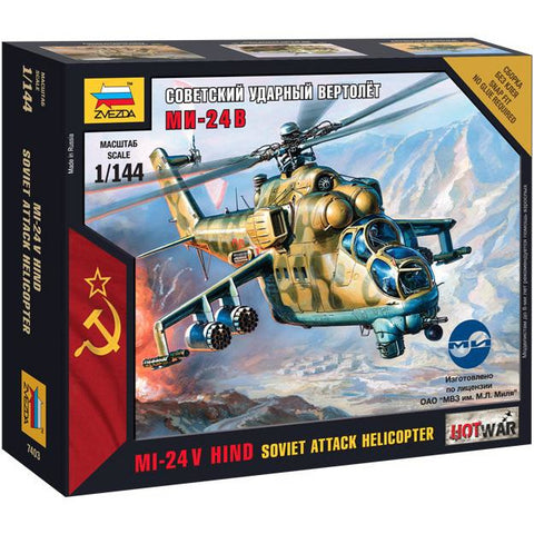 Zvezda 7403 1/144 Mil-24 VP Plastic Model Kit