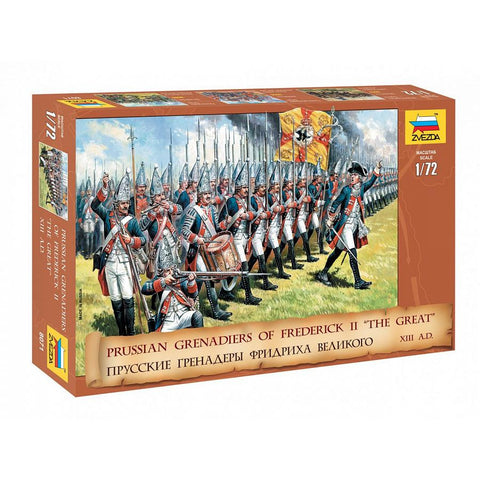Zvezda 8071 1/72 Prussian Grenadiers Plastic Model Kit