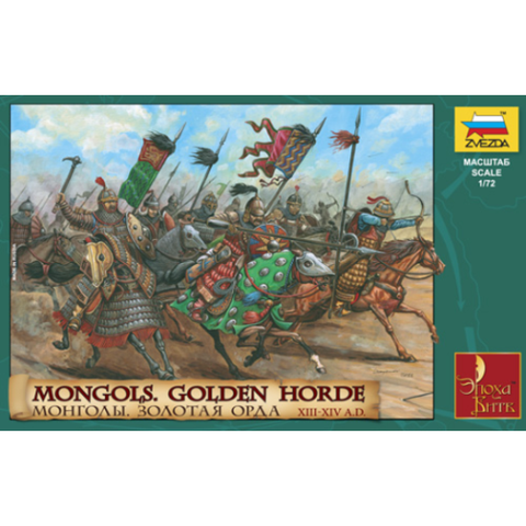 ZVEZDA 8076 1/72 Mongols - Golden Horde Plastic Model Kit