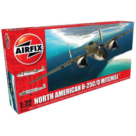 AIRFIX 1/72 North American B25C/D Mitchell - New Tool