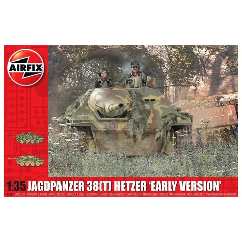 "AIRFIX JAGDPANZER 38 TONNE HETZER ""EARLY VERSION""(58-1355"