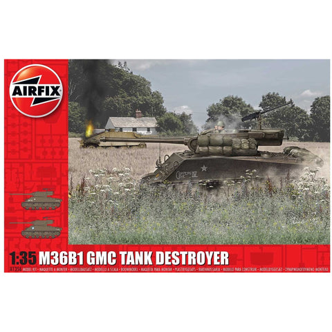 AIRFIX 1/35 M36B1 GMC TANK DESTROYER (U.S. ARMY)