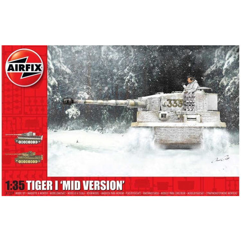 "AIRFIX 1/35 TIGER-1 ""MID VERSION"""