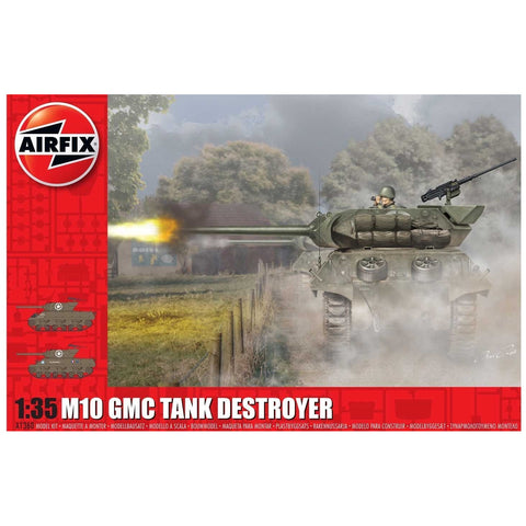 AIRFIX 1/35 M10 GMC TANK DESTROYER (U.S. ARMY)