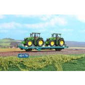 ACME Type Kgps Wagon of FS Loaded with Tractors (AC40178) - Hearns Hobbies Melbourne - ACME