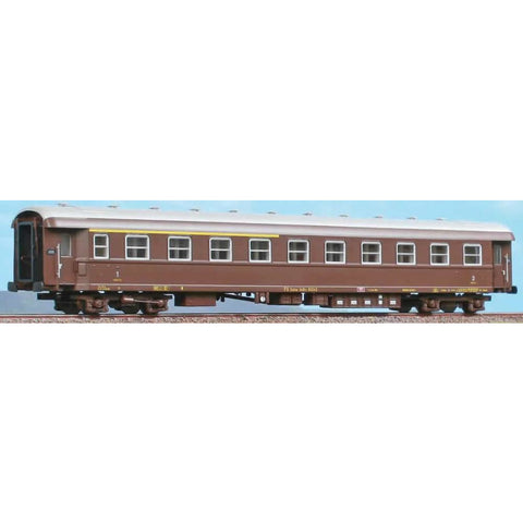 ACME HO Couchette Car 1/ Class Type 1959 - brown original l