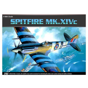 ACADEMY 1/48 SPITFIRE SUPERMARINE MkXIVC 2157
