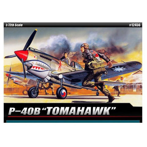 ACADEMY 1/72 P40B CURTISS TOMAHAWK 1655