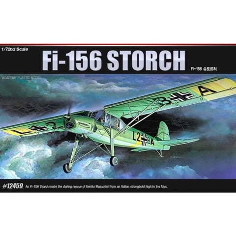 ACADEMY 1/72 Fieseler FI-156 Storch Plastic Model Kit
