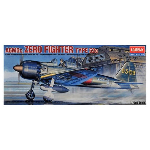ACADEMY 1/72 ZERO FIGHTER 52C A6M5C* 2176