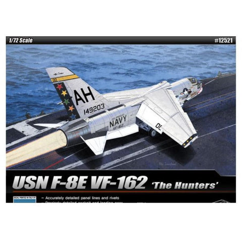 "ACADEMY 1/72 USN F-8E VF-162 ""The Hunters"""