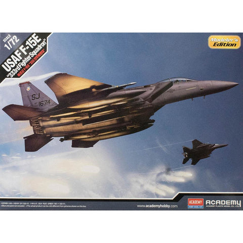 "ACADEMY  1/72 USAF F-15E Eagle ""333rd Fighter Squadron"" Plastic Model Kit (ACA-12550)"