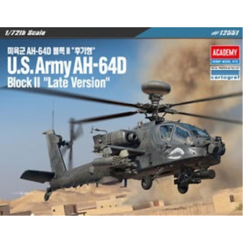 "ACADEMY  1/72 U.S. Army AH-64D Block II ""Late Version"" (ACA-12551)"