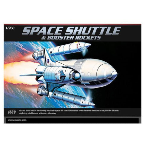 ACADEMY 1/288 Space Shuttle +Booster Rockets