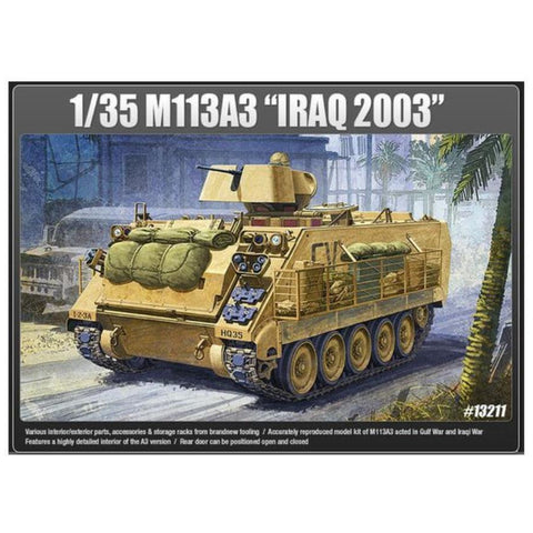 ACADEMY  1/35 M113 Iraq Ver. Plastic Model Kit (ACA-13211)