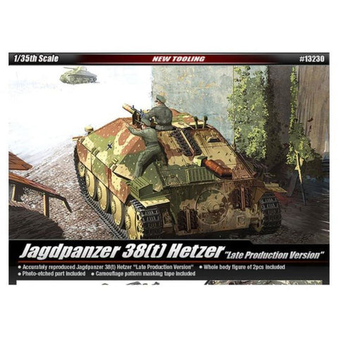 ACADEMY 1/35 TANK HETZER LATE VERSION