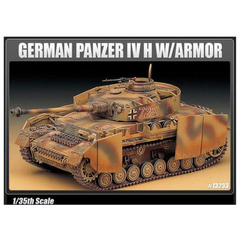 ACADEMY 1/35 TANK GERMAN PANZER IV H +ARMOUR 1327
