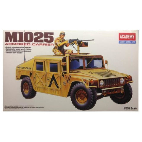 ACADEMY 1/35 TANK M1025 ARMOURED CARRIER 1350