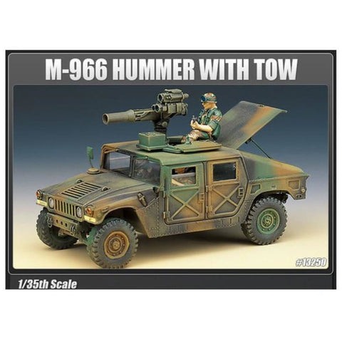 ACADEMY 1/35 M-966 Hummer With Tow