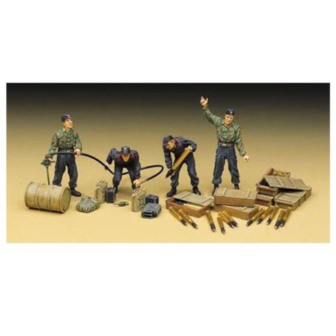 Academy 1/35 FIG German Tank Supplies + Crew