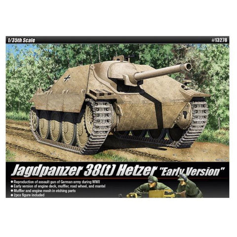 ACADEMY 1/35 TANK HETZER EARLY PROD  LE