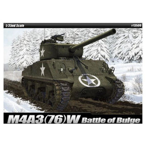 "ACADEMY 1/35 M4A3 (76)W ""Battle of Bulge"