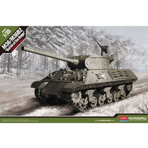 "ACADEMY  1/35 M36/M36B2 ""Battle Of The Bulge"" Plastic Model Kit (ACA-13501)"
