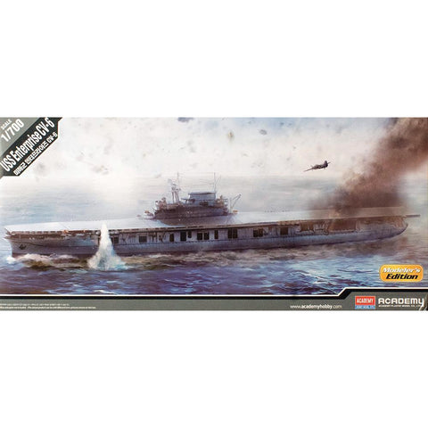 ACADEMY  1/700 USS Enterprise CV-6 Modeler's Edition Plastic Model Kit (ACA-14224)
