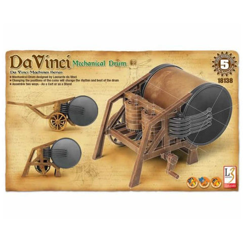 ACADEMYDA VINCI MECHANICAL DRUM