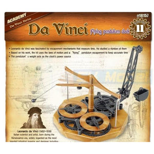 ACADEMY Da Vinci Flying Pendulum Clock