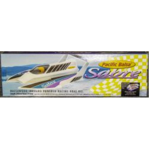AeroFlight Models Sabre Boat kit 395mm (AFMASABRE)